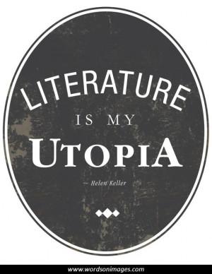 Literature quotes...