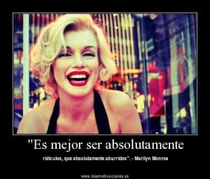 Marilyn Monroe. its in spanish but shes sooooooo pretty in this ...