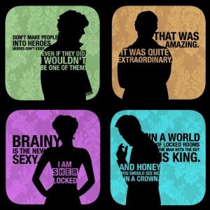Sherlock Quotes - iamkyon Fan Art