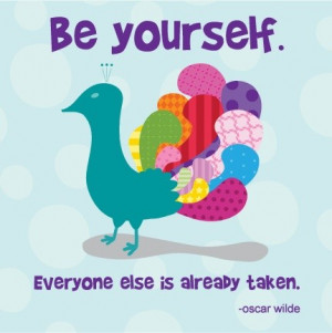 Smart, quotes, sayings, be yourself, oscar wilde