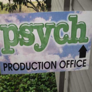 How awesome is it to visit the 'Psych' set, meet the cast, and watch ...