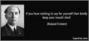 Roland Freisler's quote #1