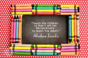 ... Quotes ! While you are there, check out her super cute Crayon Frame