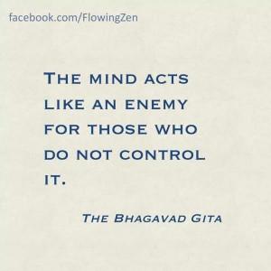 Bhagavad gita quotes, famous, wise, sayings, mind