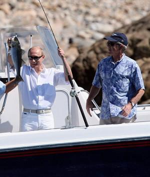 Vladimir Putin George Bush Maine