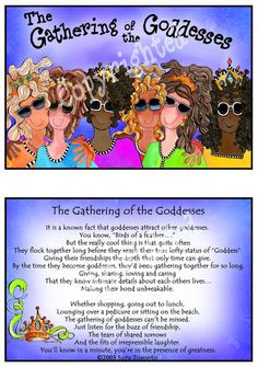 Gathering of the Goddesses (6 diverse girls) More