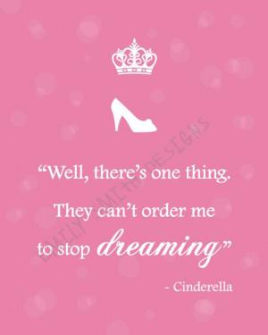 Beautiful Cinderella Quote