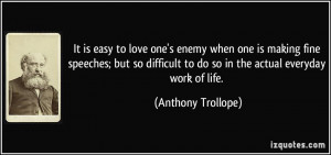 ... difficult to do so in the actual everyday work of life. - Anthony