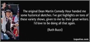 The original Dean Martin Comedy Hour handed me some hysterical ...