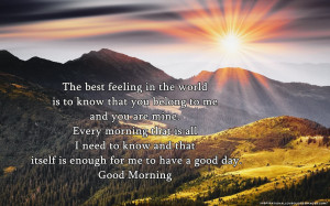 Good Morning Love Quotes For Her Good Morning Love Quotes For Her Good ...