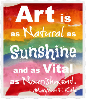 Best Art and Creativity Quotes for Children & Adults