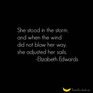 She Stood In The Storm #quote