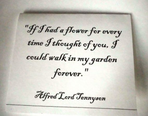 Alfred Lord Tennyson | Quotes