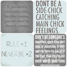 Shout out to all the side chicks