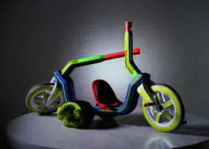 Wild Wacky Action Bike by quente
