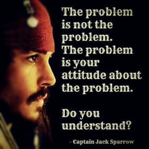 Jack sparrow's problem quote