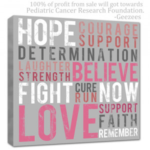 cancer hope canvas donate copy