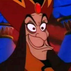 Quotes from Aladdin 2 with Abis Mal , Jafar , and snapshot picture;