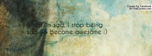 when i'm sad , Pictures , i stop being sad && become awesome ...