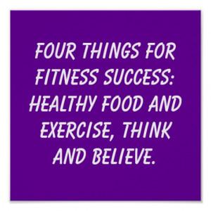 Fitness Quotes Print