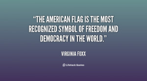 The American flag is the most recognized symbol of freedom and ...
