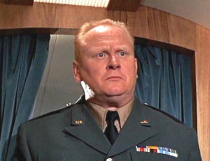 Gert Fröbe as Auric Goldfinger - here impersonating a U.S. Army ...