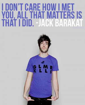 quotes all time low Jack Barakat Alex Gaskarth rian dawson zack ...