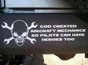 Aircraft Mechanics - Military humor