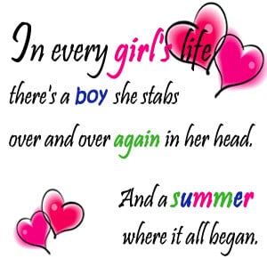 end of summer quote, in every girl's life quotes, quotes about ...