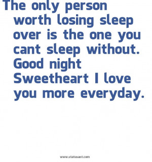 good night love quotes cant sleep without you quotes sleeping sweets ...