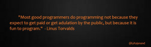 Computer programming (often simply programming or coding) is the craft ...