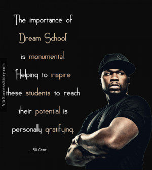 The importance of 'Dream School' is monumental. Helping to inspire ...