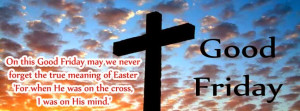 Good Friday 2015 Facebook cover Timeline Photos