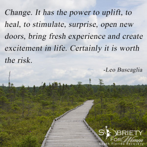 Sobriety Quotes For Women Leo buscaglia quote