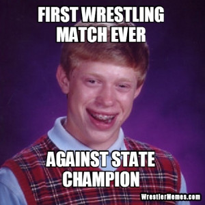 First Wrestling Match Ever...