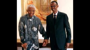 Paul Kagame, Nelson Mandela