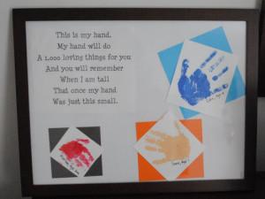 Grandparents Day Poem ~ A sweet poem to accompany the tiny handprints ...