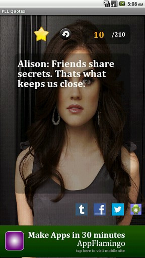 View bigger - Pretty Little Liars Quotes for Android screenshot