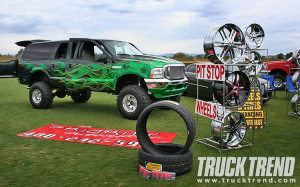 Ford Trucks Lifted. Lifted Ford Excursion Side