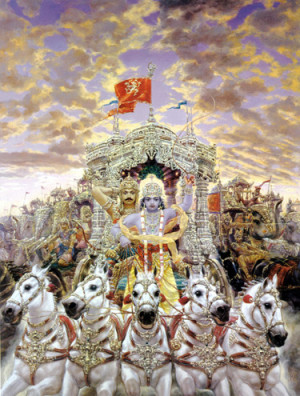 Krishna reminds Arjuna that he and his brothers have expired all ...