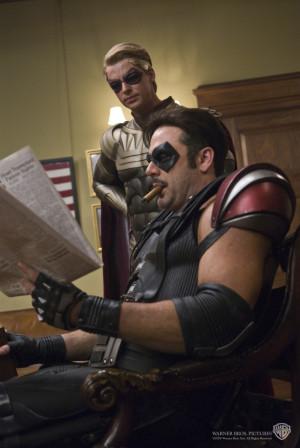 Watchmen The Comedian & Ozymandias