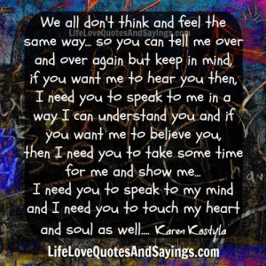 Touch My Heart And Soul .. - Love Quotes And SayingsLove Quotes And ...
