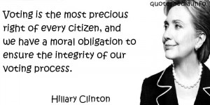 Famous quotes reflections aphorisms - Quotes About Right - Voting is ...
