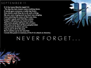 Here Are Three Best Free September 11th Poems For Children, You Can ...