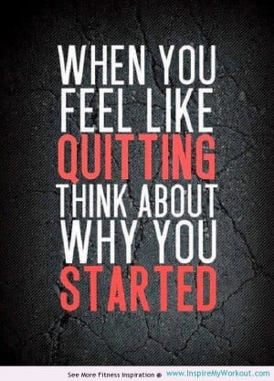 Check out this quote pic to motivate your workout!