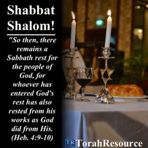 Shabbat Shalom! Find great Messianic studies for the Shabbat here.