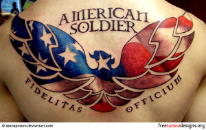 American Soldier Tattoo American soldier - army tattoo
