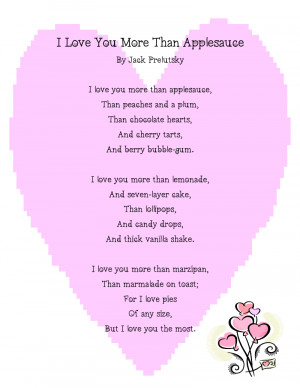 Valentine Poem Freebie