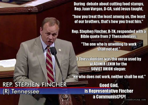Tennessee Congressman Fincher Quotes Lenin's Favorite Bible Verse in ...