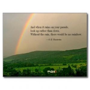Inspirational Rainbow Scene